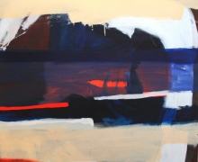 Jsorby2010_big edge_oil on canvas_150x150cm