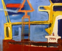 Jsorby2011_Departure_oil on board_60x60cm