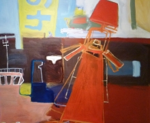 Jsorby2011_Port mark 49_oil on board_90x90cm